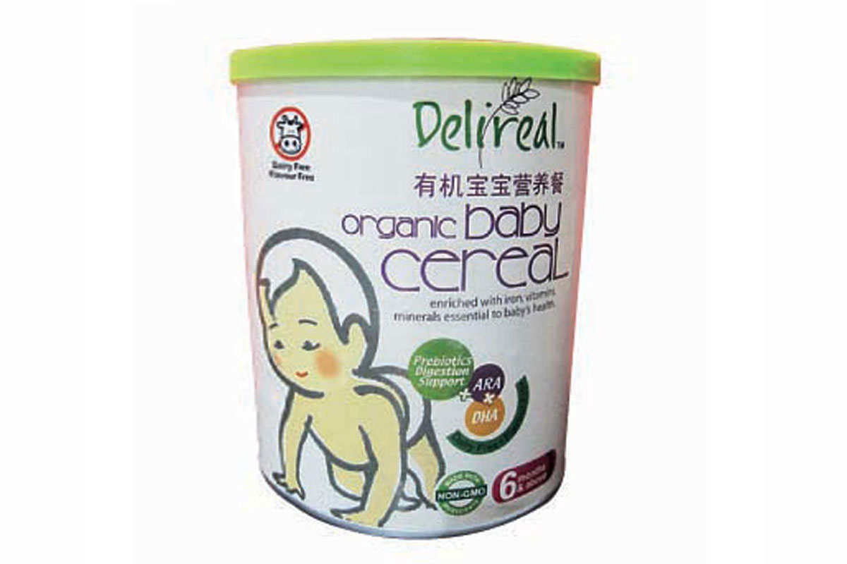 Best cereal for babies organic